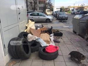 Ново сметище изникна в Пловдив, този път в Кючука СНИМКИ