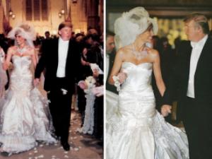 Продадоха торта от сватбата на Тръмп за рекордна сума