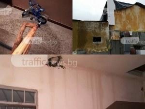 Блок в Кършияка подгизна заради безплатно саниране СНИМКИ