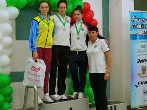 Диана Петкова с три национални рекорда на плувния турнир в Пловдив