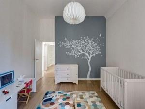 Идеи за обзавеждане на бебешка стая в скандинавски стил СНИМКИ
