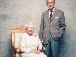 Платинена сватба: кралица Елизабет II и принц Филип отбелязват 70 години брак СНИМКИ