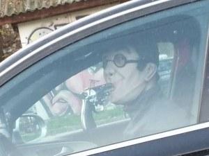 Шофьор налапа дулото на пистолет на пловдивска улица СНИМКИ