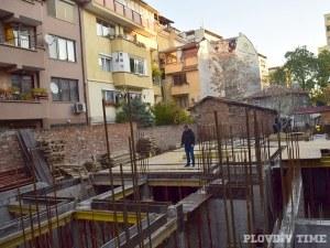 Инвеститор съсипа ценен археологически обект, криещ тайни за Древния Пловдив СНИМКИ