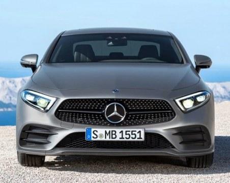 Ето го! Изтекоха снимки на новия Mercedes CLS
