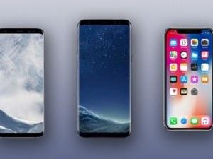 Samsung отвя iPhone за най-добрите смартфони за 2017 година