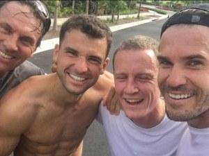 Гришо разпуска с богаташи на курорта Баха мар СНИМКИ