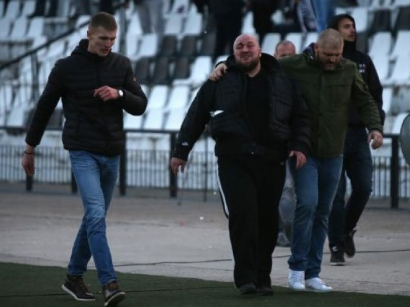 Руснакът Максим Тук провокирал и бой между фенове на Ботев и Локо ВИДЕО