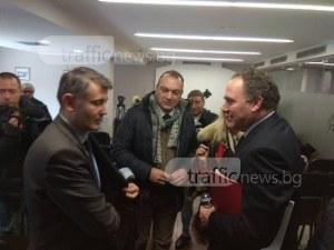 Италианските кандидат-купувачи на Локо Пловдив говориха много, но не казаха нищо СНИМКИ