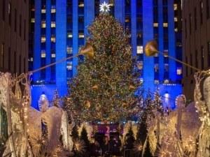 Коледната елха в Ню Йорк грейна с 50 000 лампички