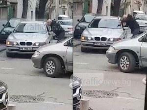 Отново шамари в Кючука! Шофьор посегна на колега заради спречкване на пътя ВИДЕО