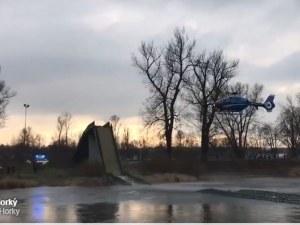 Пешеходен мост се срина, 4 души са ранени ВИДЕО