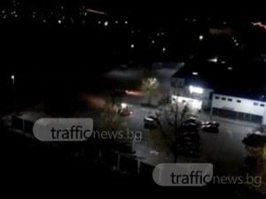 Свистене на гуми в Кършияка! Дрифтъри будят пловдивчани посред нощ ВИДЕО