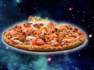 Как изглежда пица, приготвена в Космоса? ВИДЕО