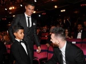 Синът на Роналдо е поклонник на Меси