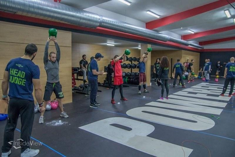 Най- модерната зала по функционален фитнес в Пловдив събра екип от профита СНИМКИ