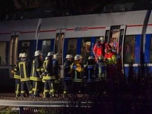Тежка влакова катастрофа в Германия, десетки са пострадали СНИМКИ