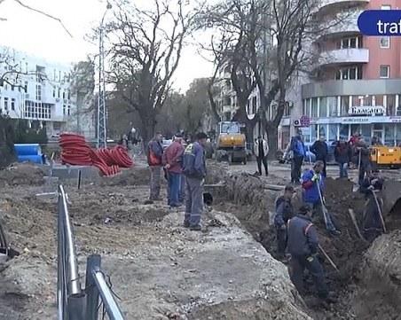 Пловдивчани след аварията с изтичането на газ: Строителите трябва да са по-внимателни ВИДЕО