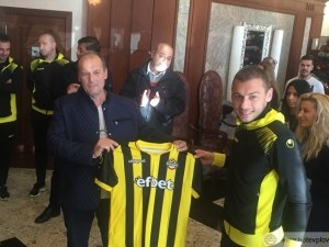 Жълто-черните се срещнаха с една от фирмите - партньори на клуба СНИМКИ