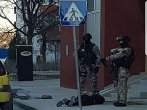 Зрелищен арест на ГДБОП пред очите на десетки минувачи СНИМКИ