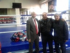 Боксовата зала към Спортното училище светна с 50 000 лева СНИМКИ