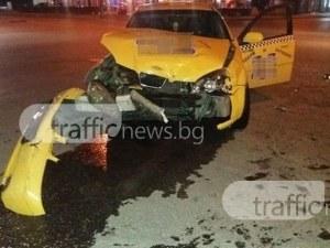 Седем души са пострадали при сблъсъка между таксита на студентския празник