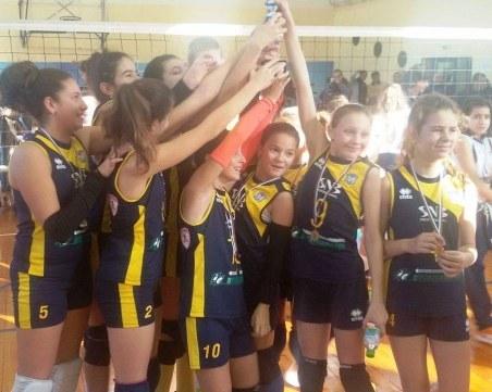 Малките маричанки спечелиха коледния турнир в София ВИДЕО