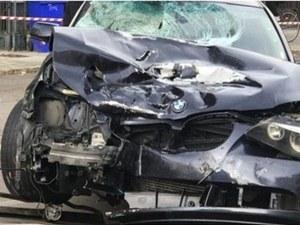 Пиян българин с БМВ уби на пътя италианец и рани сина му