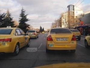 Улесниха таксиметровите шофьори в Пловдив