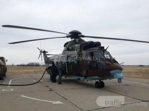 """Дежурен хеликоптер """"Кугър"""" става авиолинейка, ще спасява пострадали"""
