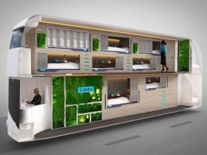 Автобус мечта ще предлага фрешове, Wi-fi и собствено легло