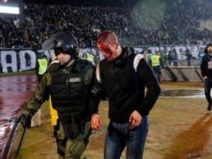 Българи арестувани при мелето в сръбското дерби Партизан - Цървена звезда ВИДЕО