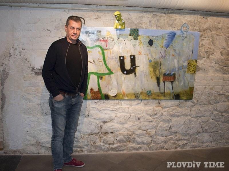 Художникът Наско Хранов пое по пътя на галактическия стопаджия