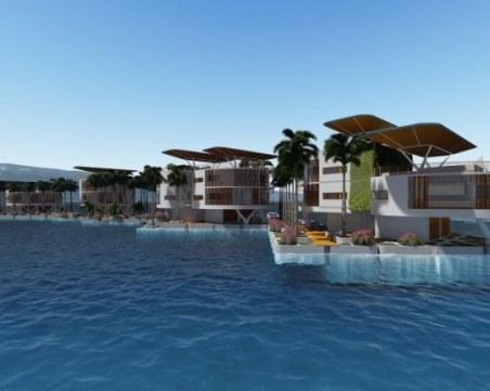 Вижте как ще изглежда първият плаващ град в света СНИМКИ