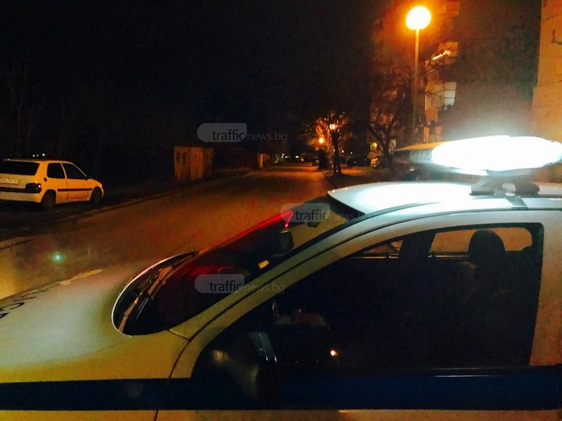 Тежко престъпление в Кючук Париж, полицията затвори улица СНИМКИ