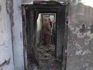 Пожар остави 12 семейства без покрив за Коледа