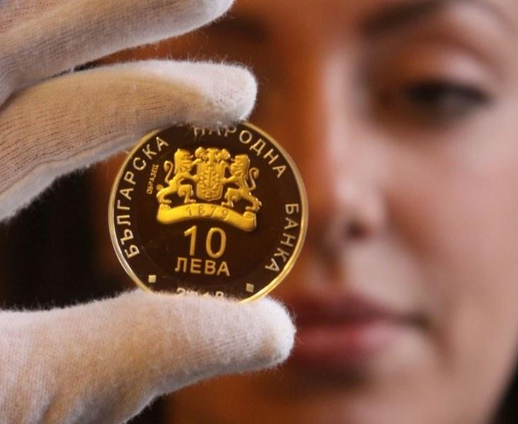 0c07b69579b Пускат нови позлатени монети от 10 и 2 лева СНИМКИ - trafficnews.bg