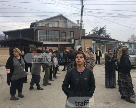 Ромите от Първенец блокират главни пътища, ако убиецът на Ангелина не получи адекватна присъда ВИДЕО