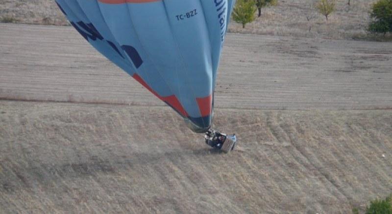 12 туристи бяха ранени при падането на балон