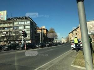 Задръстване в центъра на Пловдив заради литийно шествие СНИМКИ