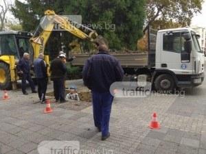 Авария на Рогошко шосе, районът остана без вода