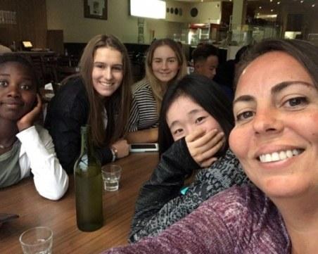 Пловдивска тенисистка смая австралийците с бекхенда си