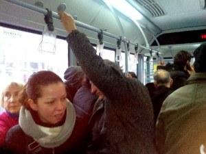 Пловдивските кондуктори декларират, че няма ... да падат