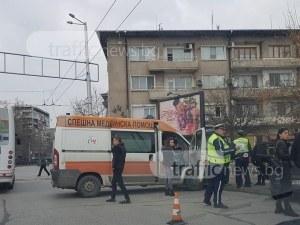 Катастрофа на кръстовището на ВСИ! Колите кацнаха на тротоара  ВИДЕО И СНИМКИ