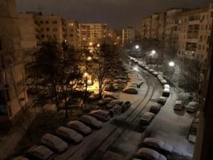 Пловдив побеля от първия сняг! СНИМКИ