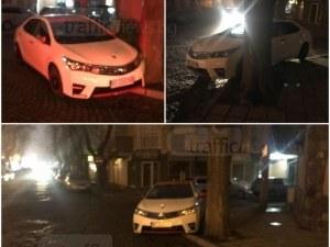 Това колата на Митьо Пищова ли е? Разпищолила се е до полицията в Пловдив СНИМКИ