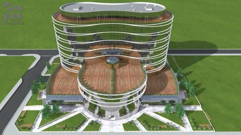 Тази година завършват сградата за 15 млн. лева на SIBIZ  в Пловдив СНИМКИ