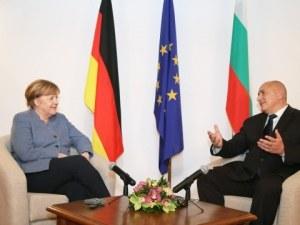 Ангела Меркел: Ще продължим да помагаме на България, следващата цел е Шенген