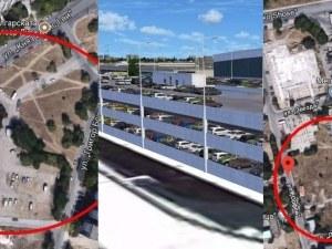 Вдигат четири многоетажни паркинги за стотици коли в три района на Пловдив СНИМКИ