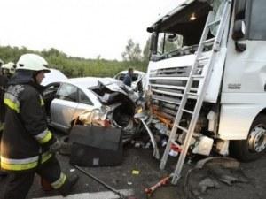Българин е в тежко състояния след меле на пътя в Унгария